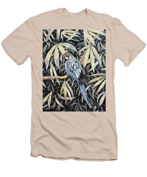 Tropical Adventure Men's T-Shirt (Slim Fit) by Martha Ayotte