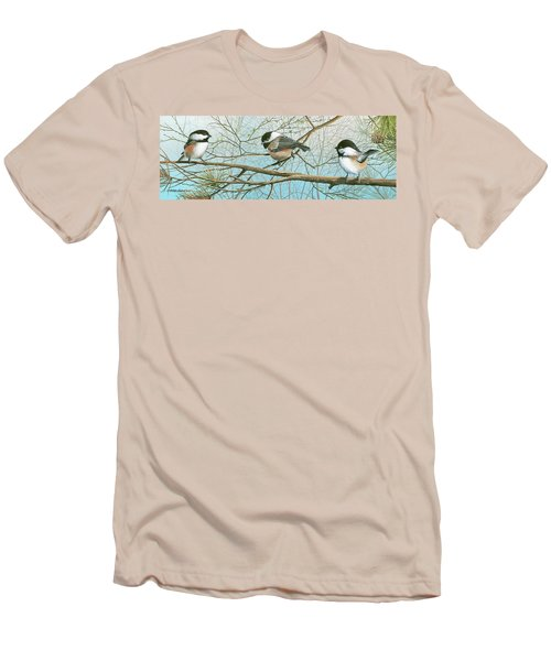 Troublesome Trio Men's T-Shirt (Slim Fit) by Mike Brown