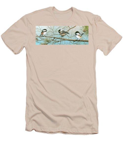 Troublesome Trio Men's T-Shirt (Athletic Fit)