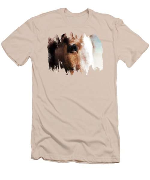 Tumbleweed Up Close Men's T-Shirt (Slim Fit) by Anita Faye