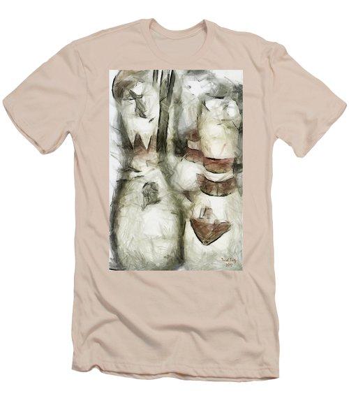 Turkey Out Men's T-Shirt (Athletic Fit)