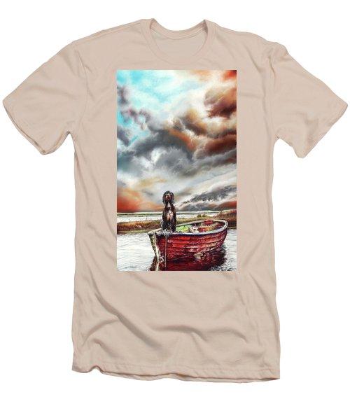 Turner's Dog Men's T-Shirt (Athletic Fit)