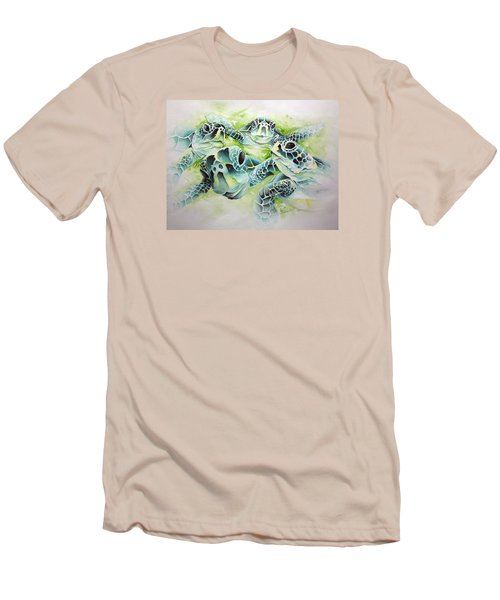 Turtle Soup Men's T-Shirt (Slim Fit) by William Love