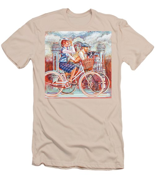 Tweed Runners On Pashleys Men's T-Shirt (Athletic Fit)