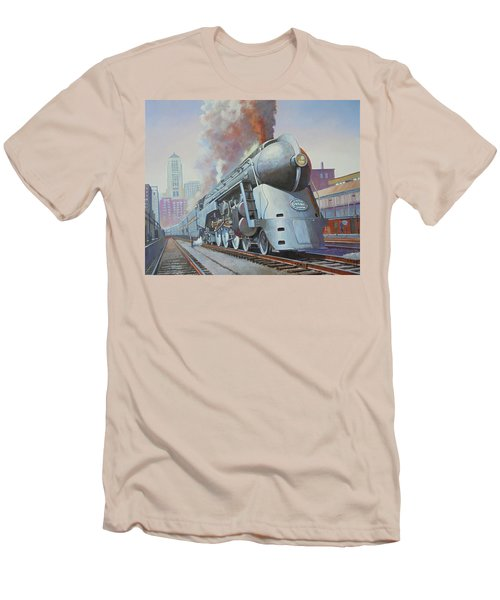 Twenthieth Century Limited Men's T-Shirt (Slim Fit) by Mike Jeffries