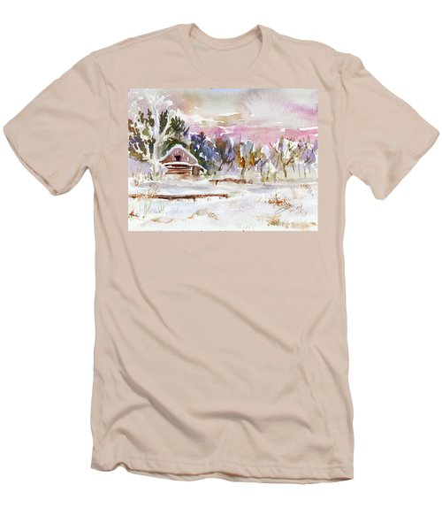 Twilight Serenade I Men's T-Shirt (Slim Fit) by Xueling Zou