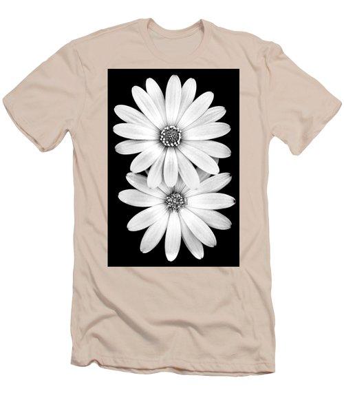 Two Flowers Men's T-Shirt (Slim Fit) by Az Jackson