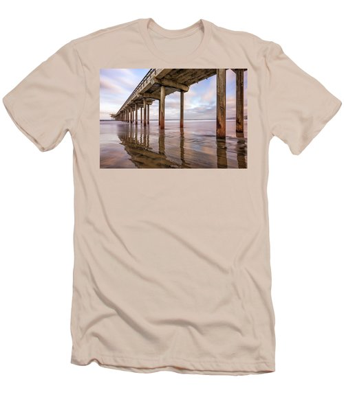 Under Scripps Men's T-Shirt (Slim Fit) by Joseph S Giacalone