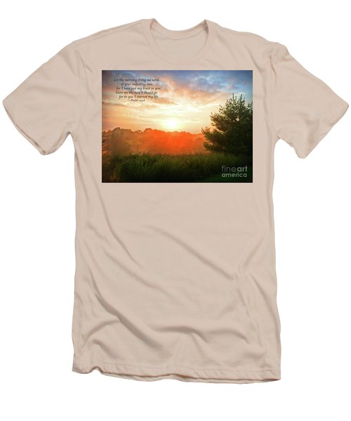 Men's T-Shirt (Athletic Fit) featuring the photograph Unfailing Love by Kerri Farley