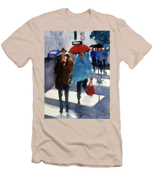 Union Square9 Men's T-Shirt (Slim Fit) by Tom Simmons