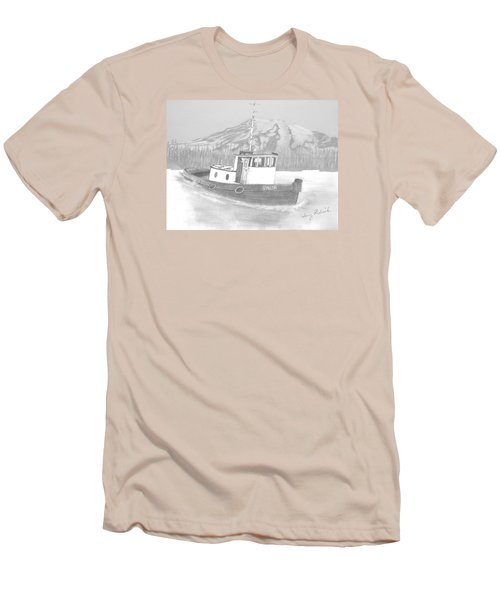 Tugboat Union Men's T-Shirt (Slim Fit) by Terry Frederick