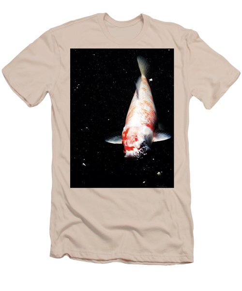 Men's T-Shirt (Athletic Fit) featuring the photograph Up For Air by Deborah  Crew-Johnson