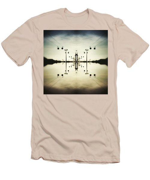 Up In The Sky Men's T-Shirt (Athletic Fit)
