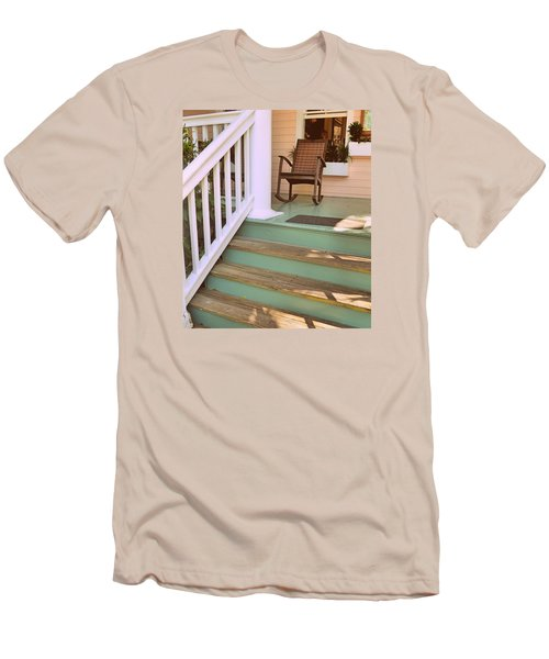 Up The Steps Men's T-Shirt (Slim Fit) by JAMART Photography