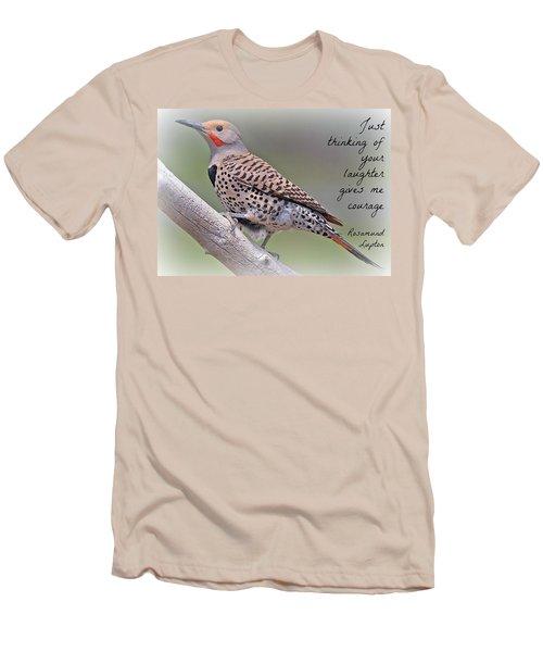 Uplifting245 Men's T-Shirt (Slim Fit) by David Norman