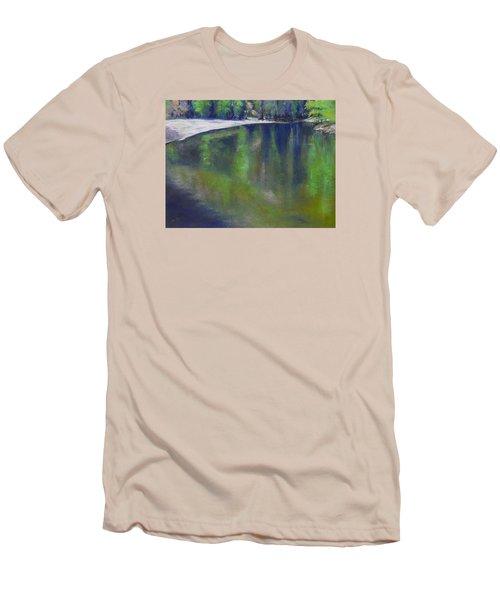 Upriver View Men's T-Shirt (Athletic Fit)