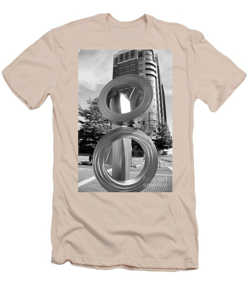 Urban Abstract  Men's T-Shirt (Athletic Fit)