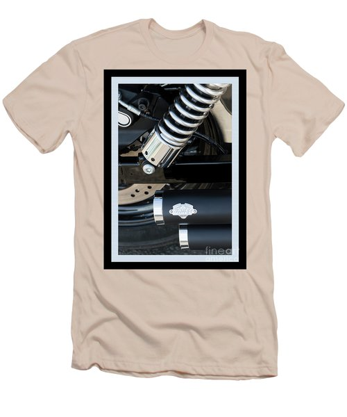 Men's T-Shirt (Athletic Fit) featuring the photograph Vance And Hines by Wendy Wilton