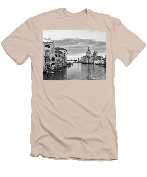 Men's T-Shirt (Slim Fit) featuring the photograph Venice Morning by Richard Goodrich