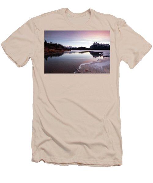 Vermillion Ice Break Men's T-Shirt (Athletic Fit)