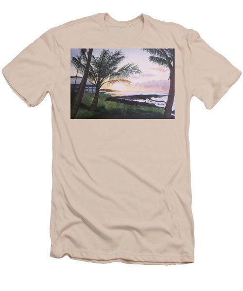 Men's T-Shirt (Slim Fit) featuring the painting Version 2 by Teresa Beyer