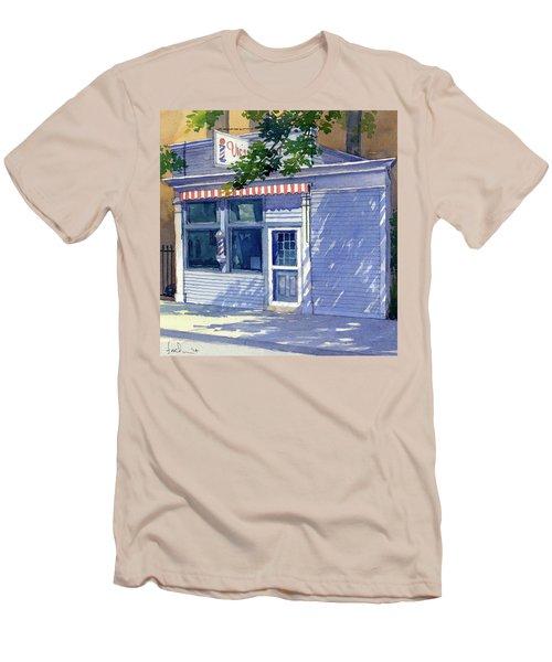 Vic's Barbershop Men's T-Shirt (Athletic Fit)