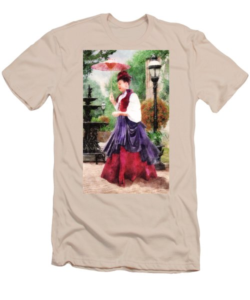 Victorian Lady Men's T-Shirt (Athletic Fit)