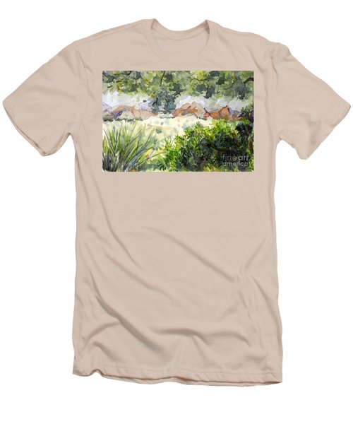View At Red Rock Men's T-Shirt (Athletic Fit)