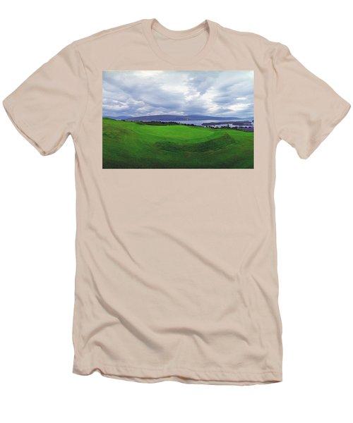 Views Of The Seas Men's T-Shirt (Slim Fit) by Jan W Faul