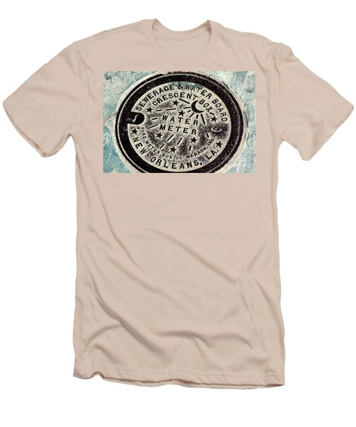 Vintage New Orleans Water Meter Men's T-Shirt (Athletic Fit)