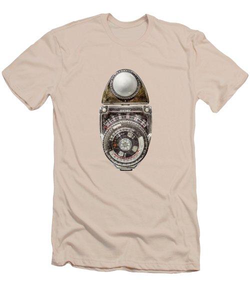 Vintage Sekonic Deluxe Light Meter Men's T-Shirt (Slim Fit) by YoPedro