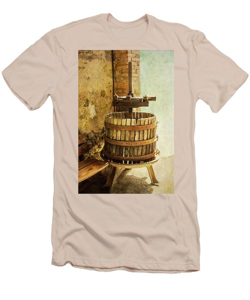 Vintage Wine Press Men's T-Shirt (Athletic Fit)
