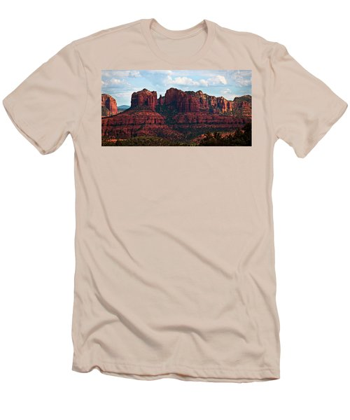 Men's T-Shirt (Athletic Fit) featuring the photograph Visions Of Sedona  by Saija Lehtonen