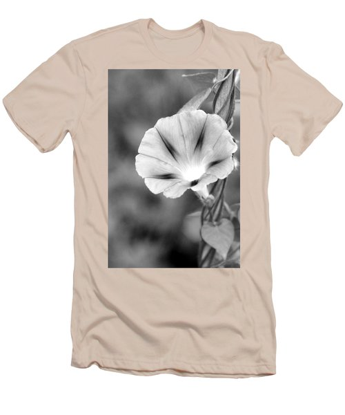Men's T-Shirt (Athletic Fit) featuring the photograph Wait For The Sun To Rise In The Morning by Vadim Levin
