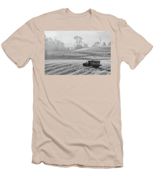 Waiting For A Load Men's T-Shirt (Slim Fit) by Nicki McManus