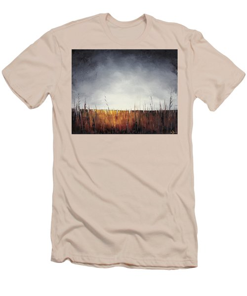 Walking, I Am Listening To A Deeper Way Men's T-Shirt (Slim Fit) by Carolyn Doe