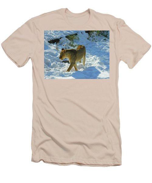 Walking On The Wild Side Men's T-Shirt (Slim Fit) by Emmy Marie Vickers
