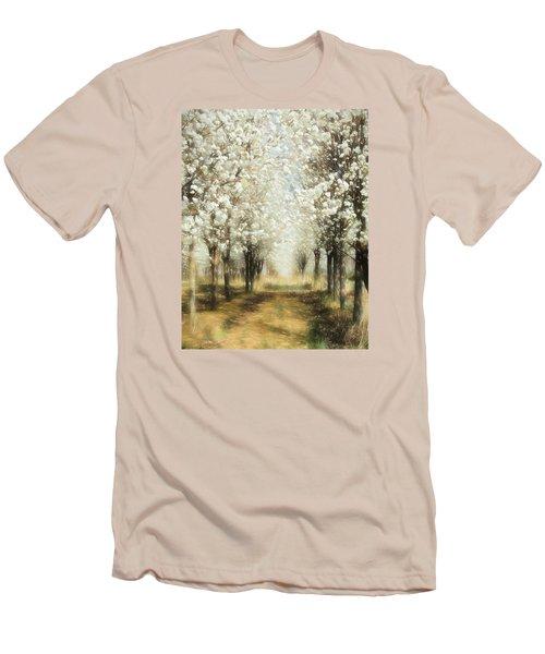 Walking Through A Dream Ap Men's T-Shirt (Slim Fit) by Dan Carmichael
