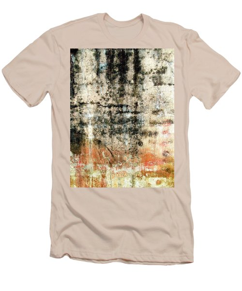Wall Abstract 182 Men's T-Shirt (Slim Fit) by Maria Huntley