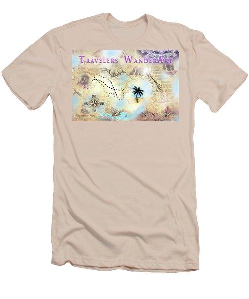 Wanderart Men's T-Shirt (Athletic Fit)