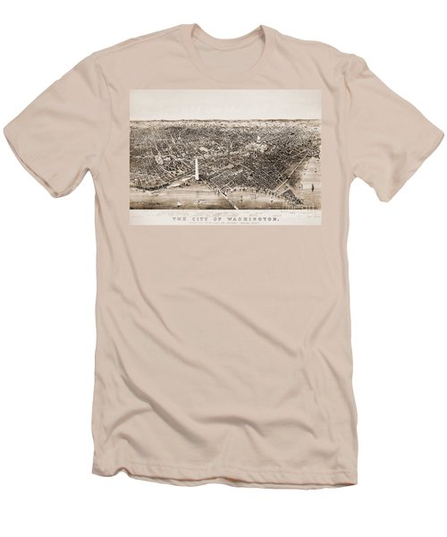 Washington D.c., 1892 Men's T-Shirt (Slim Fit) by Granger