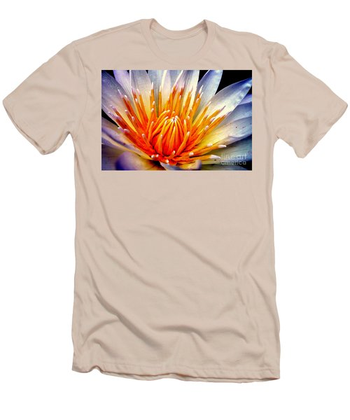 Water Lily Flower Men's T-Shirt (Athletic Fit)
