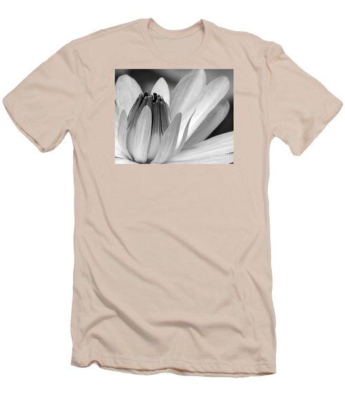 Water Lily Opening Men's T-Shirt (Athletic Fit)