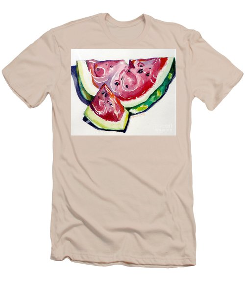 Watermelon Men's T-Shirt (Athletic Fit)