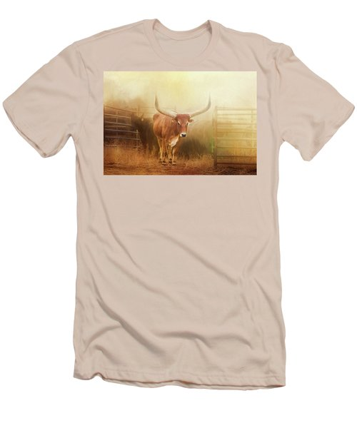 Watusi In The Dust And Golden Light Men's T-Shirt (Athletic Fit)