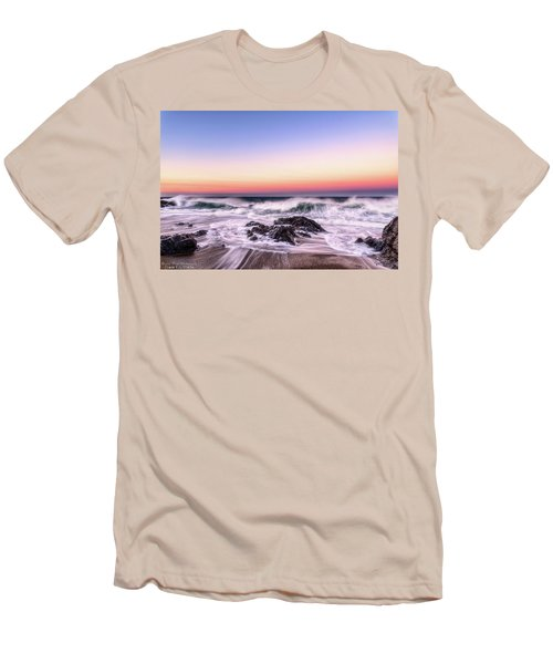 Wave Action Men's T-Shirt (Athletic Fit)