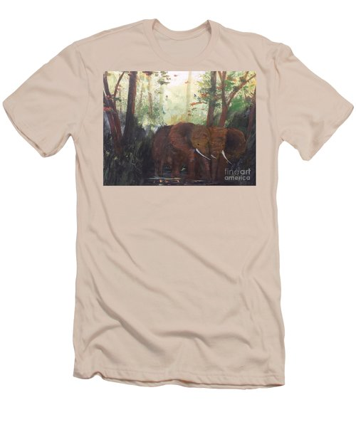 We Two Men's T-Shirt (Slim Fit) by Trilby Cole