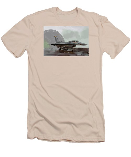 Weather Day 1274 Men's T-Shirt (Slim Fit) by Walter Chamberlain