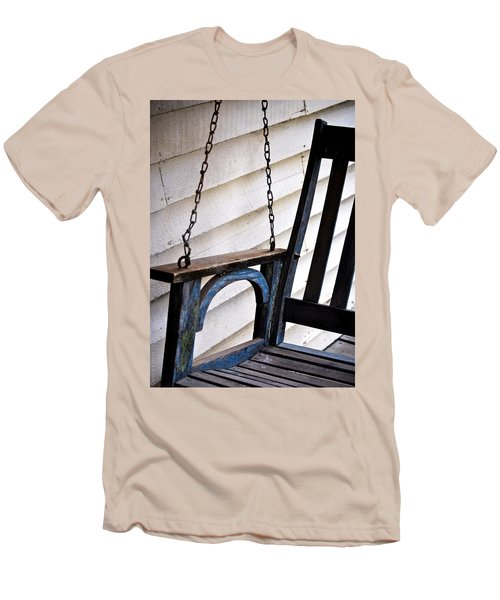 Weathered Porch Swing Men's T-Shirt (Athletic Fit)