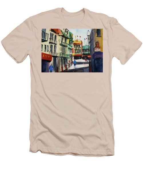 Waverly Place Men's T-Shirt (Slim Fit) by Tom Simmons